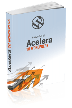 Portada 3D Ebook Acelera tu WordPress