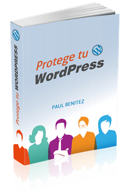 Portada 3D Ebook Protege tu WordPress